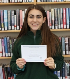 Senior Named National Merit Finalist
