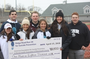 Students Help Raise Funds for Mental Health Awareness
