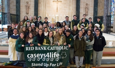 Caseys4Life Attend Mass for Life in Trenton