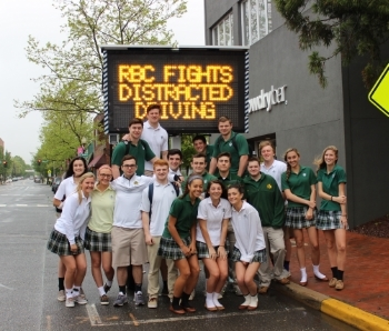 Red Bank Catholic Fights Distracted Driving