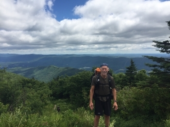 Phys Ed Teacher John Mautner Completes 420-Mile Solo Hike