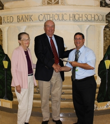 Class of '56 Benefactor Visits RBC
