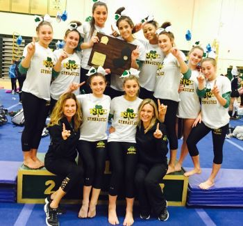 Casey Gymnastics Team Wins Overall Shore Conference Title