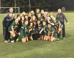 Girls Soccer Wins the South Jersey Parochial A Championship