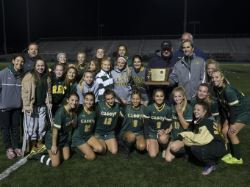 Girls Soccer Co-Champions in Non-Public A final