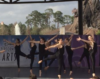 RBC Dance Company Performs in Disneyworld