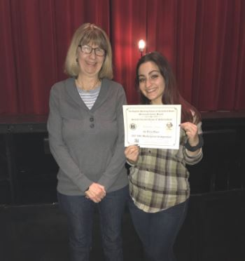 RBC Senior Advances to National Shakespeare Competition