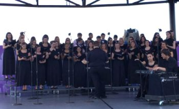 RBC Choir Performs in Disney