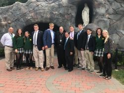 Students Attend Diocesan Conference for Catholic Athletes for Christ