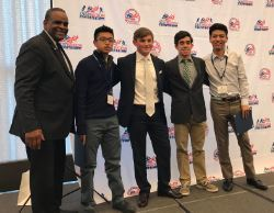 Four Students Honored by Destination Athlete